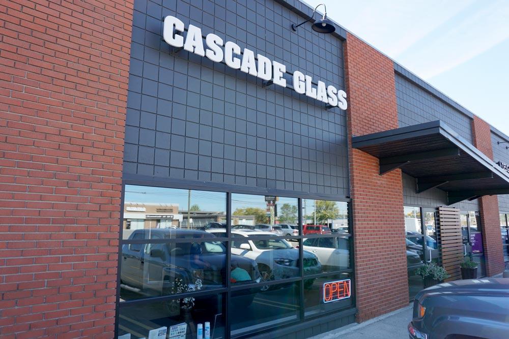 Cascade Glass Exterior Signage