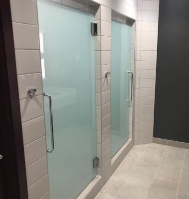 Frameless Shower Stalls
